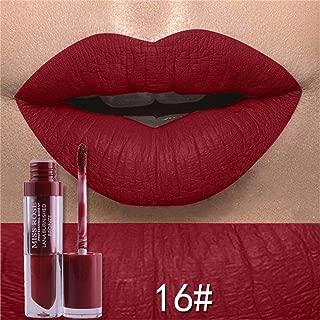 Oceaneshop Hot New Metallic Long Lasting Liquid Lipstick Matte Velvet Lip Gloss Moisturizer