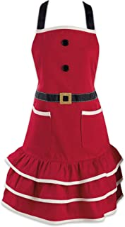 DII 5035 Holiday Kitchen, 24x29.5, Mrs. Clause Apron
