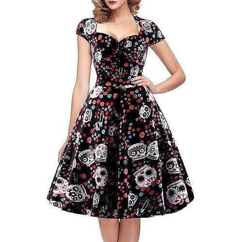 Robe fleurie mi longue chic – Modèles populaires de robes