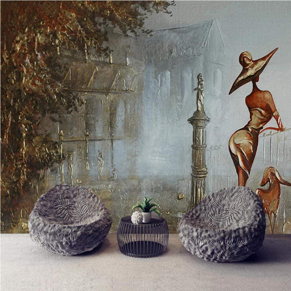 Pbldb Custom Sales Any Size Mural Wallpaper 3D Figure Golden Fr Sales results No. 1 Stereo