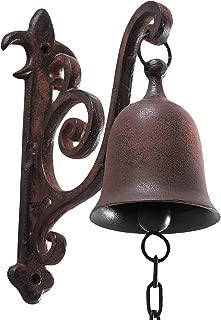 DECONOOR Vintage Cast Iron Rustic Dinner Bell