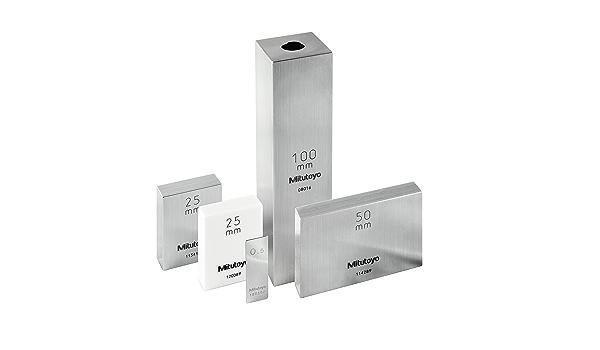 0.75mm Length ASME Grade K Mitutoyo 611916-516 Steel Rectangular Gage Block