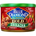 Blue Diamond 6-Ounce Bold Sriracha Gluten Free Almonds