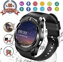 Smart Watch, Bluetooth Smartwatch Touch Screen Wrist Watch with Camera/SIM Card..