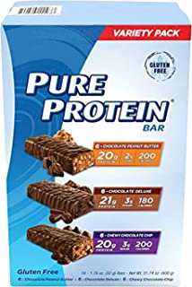 low fat snacks by Pure Protein