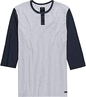 Men's Pick Up Henley Knit Top