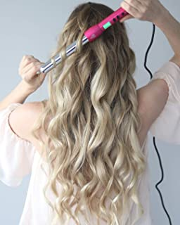 NuMe Magic Curling Wand, 25 mm, pink