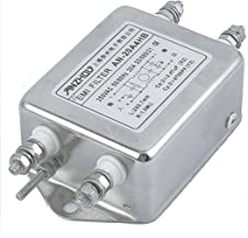 Aexit AN-20A4HB AC Control electrical 250V 20A Single Phase Noise Suppressor Power Line EMI Filter