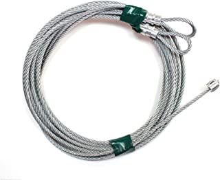 USA Premium Store Garage Door Cables for Torsion Spring Doors, 9', 10', 12', or 14' High Doors (12)