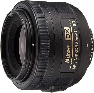 Nikon AF-S Nikkor - Objetivo con Montura para Nikon (35 mm f/1.8 DX) Color Negro
