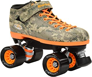 New Riedell R3 Digital Camo Quad Roller Derby Speed Skates (Mens 14)