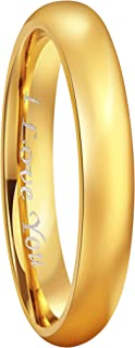 Best engraved gold ring Reviews