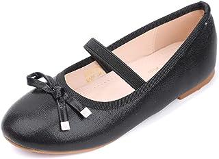 0eb149c6f8d73 EIGHT KM Mary Jane Fille Chaussures étudiants Ballerines de Princesse Fille  Chaussures pour Mariage