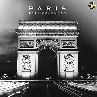2016 Paris Wall Calendar
