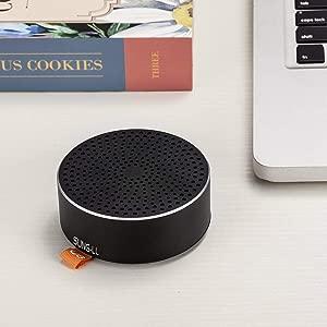 FidgetKute Metal Alloy Portable Mini Wireless Loud speaker For Smart Mobile Cell Phone Color Compatible Model One size