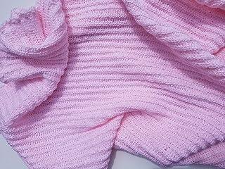 Handmade Pink Baby Blanket