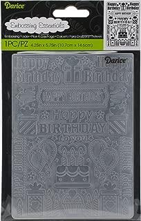 Best darice happy birthday embossing folder Reviews
