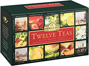 Ahmad Tea Twleve Tea's Enveloped Tea Bags - 60 x 2 gm