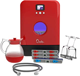 Bob le mini lave-vaisselle Made in France Pack Premium Rouge