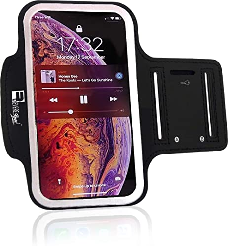 """RevereSport iPhone 11 Running Armband. Sports Phone Case Holder for Runners and Gym Exercise (6.1"""")"""