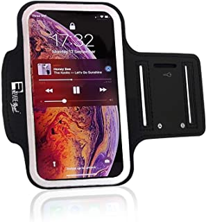 RevereSport iPhone 11 Running Armband. Sports Phone Case Holder for Runners and Gym Exercise (6.1