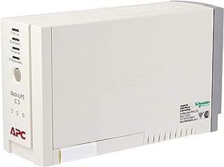 APC BK500EI Battery Back-Up and Surge Protector UPC, White