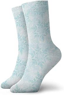 Blue Snow - Calcetines de algodón para deportes unisex