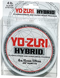 Yo-Zuri Hybrid Clear 275 Yards Monofilament Fishing Line