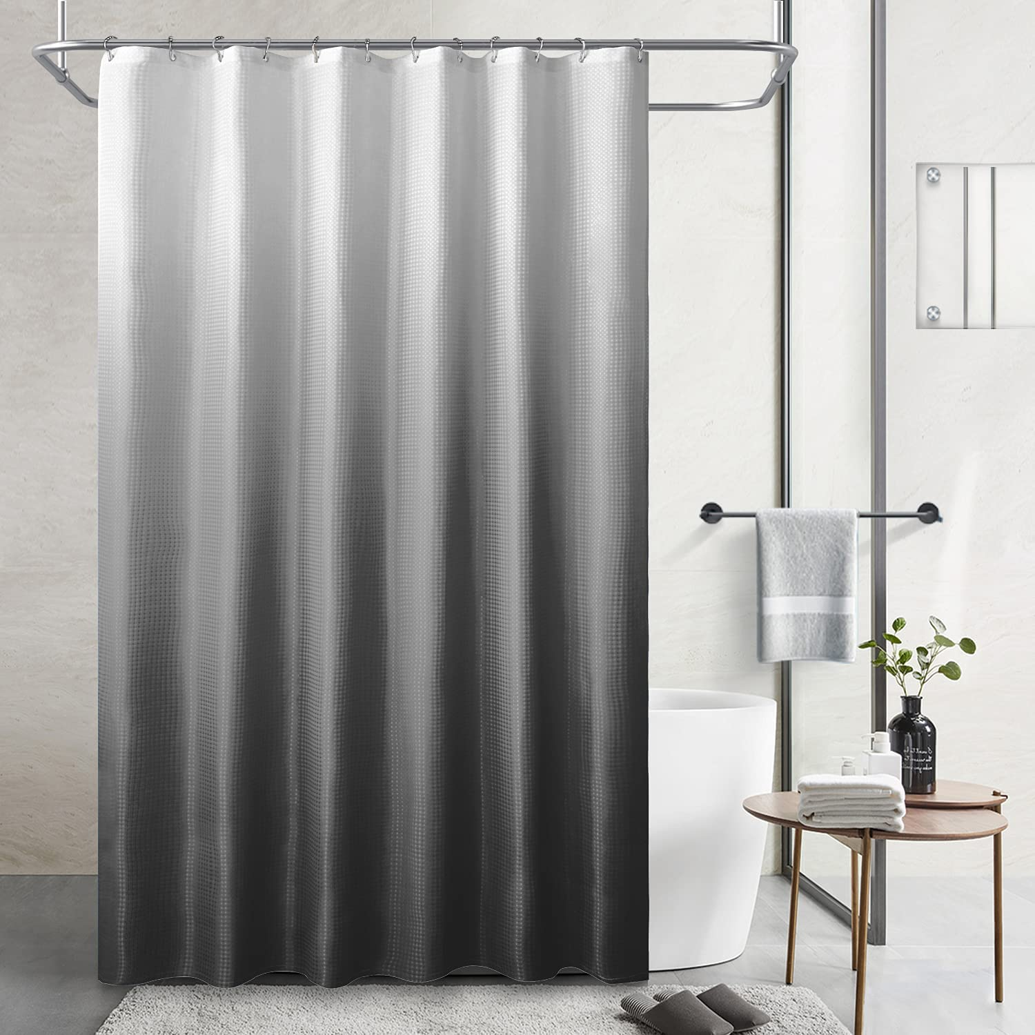 SOXART Home Polyester Ombre Bath Da for Bathroom Shower Curtains Shipping included Online limited product