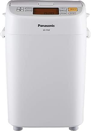 Panasonic SD-P104WSH Breadmaker with 13 menu functions, White
