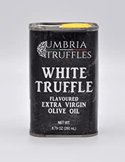 White Truffle Flavored Extra Virgin Olive Oil 250 ml Can