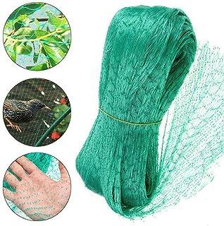 Bird Netting for Garden,13x20Ft Garden Netting,Fruit Tree Netting Doesn't Tangle and Reusable Bird Mesh Protect Fruit Vege...