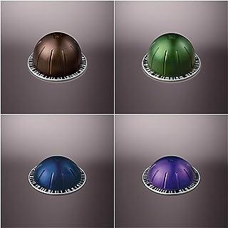Nespresso Vertuoline Coffee and Espresso Capsules - The Dark Assortment: 1 Sleeve of Intenso, 1 Sleeve of Stormio, 1 Sleev...