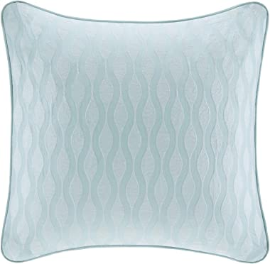 Harbor House Maya Bay Euro Sham, 26 by 26-Inch, Blue