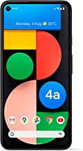 Google Pixel 4a with 5G (2020) G025I 128GB + 6GB RAM (GSM Only | No CDMA) Factory Unlocked 5G Smartphone (Just Black) - In...