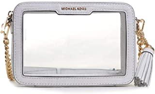 MICHAEL Michael Kors Medium Camera Bag Optic White 1 One Size