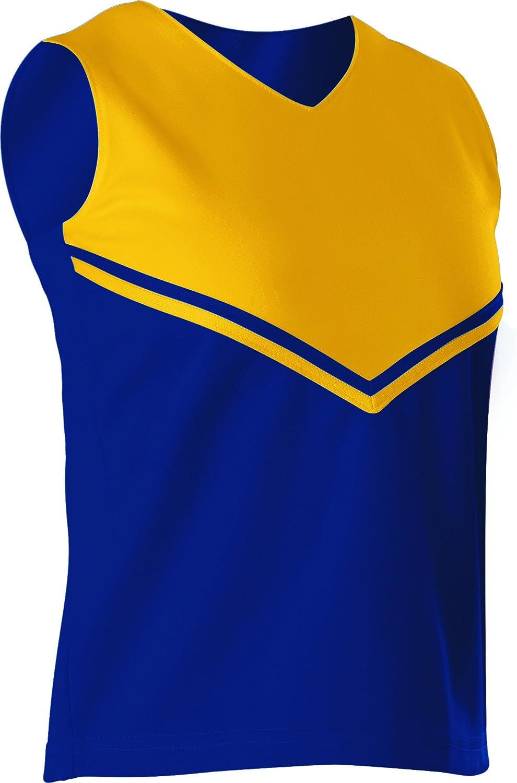 Alleson Damen Cheerleading V Shell Top mit Braid