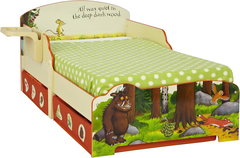 Der Grüffelo KIDS Kinderbett mit Unterbettkommode