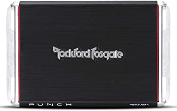 Rockford Fosgate PBR300X4 Punch 300 Watt 4 Channel Boosted Rail Amplifier
