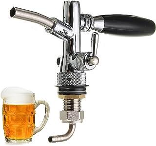 Bureze Despachador de Cerveza Ajustable con Control de Flujo para Grifo de Barril G5/8 de la Marca