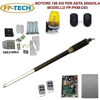 Kit de automatización de puerta batiente 2 puertas motor abridor eléctrico 24 V 220 V: Amazon.es: Bricolaje y herramientas