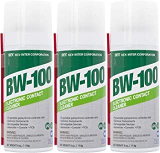 Sponsored Ad - BW-100 Electronic Contact Cleaner Non-Flammable Aerosol Spray - Safely Cleans Joycons, Keyboards, Computer...