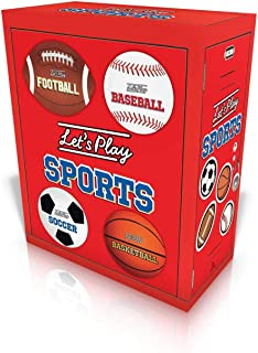 Let's Play Sports: Let's Play Football; Let's Play Baseball; Let's Play Soccer; Let's Play Basketball