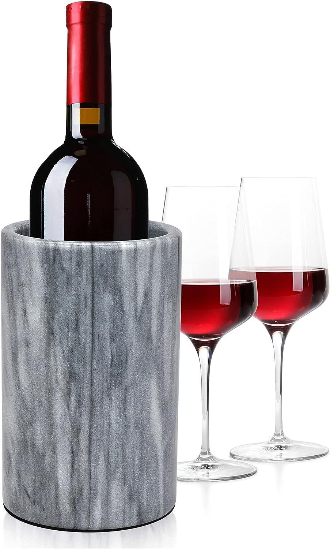 Modern Innovations Wine Seattle Mall Chiller Marble Bottle Grey Max 59% OFF Elegant