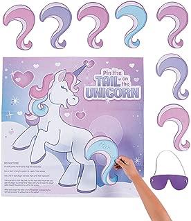 Fun Express Pin The Tail on The Unicorn Game