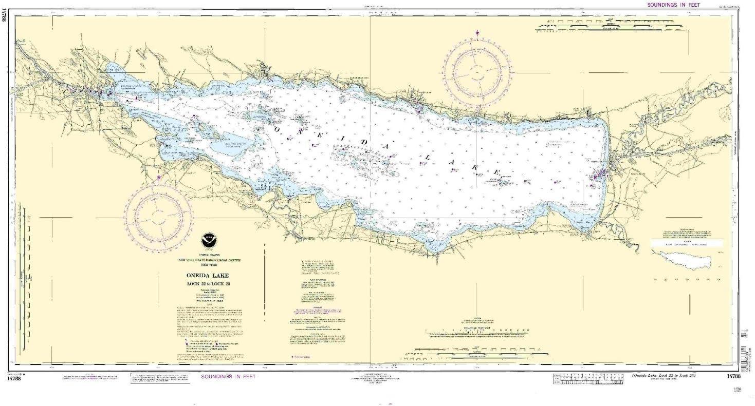 NOAA 14788-Oneida Max 90% OFF Lake - Lock to 22 2021 23