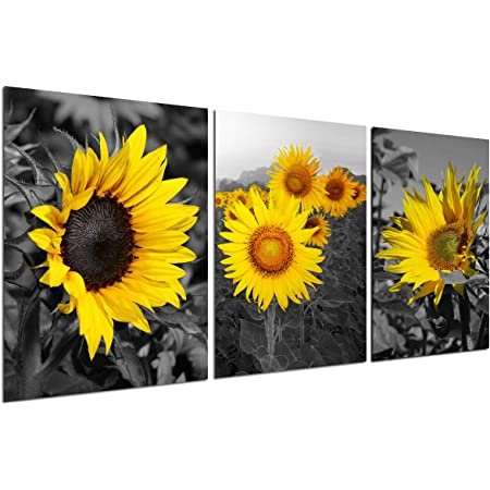81-07W Cute pretty Sunflower Decoration Wall Graphic Mural