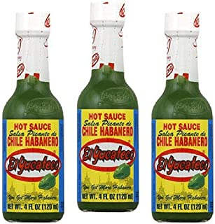El Yucateco Sauce Habanero Grn Hot (Pack of 3)