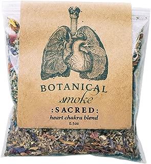 Anima Mundi Botanical Sacred Smoke - Organic Loose Herbal Blend with Mugwort, Rose Petals + Calendula Flowers (0.5oz)