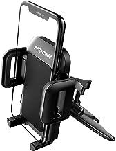 Mpow Support Téléphone Voiture pour Lecteur de CD, Support portable Voiture pour Lecteur de CD avec Rotation 360° pour iPhone 11 Pro, Galaxy, Lg, Huawei, Smartphone et GPS Appareils